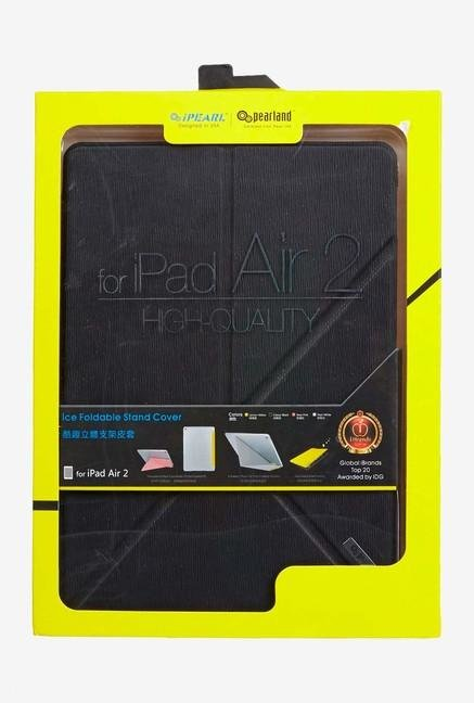 Ipearl iPad Air2 IP14-MAN-08501B Foldable Stand Cover Black