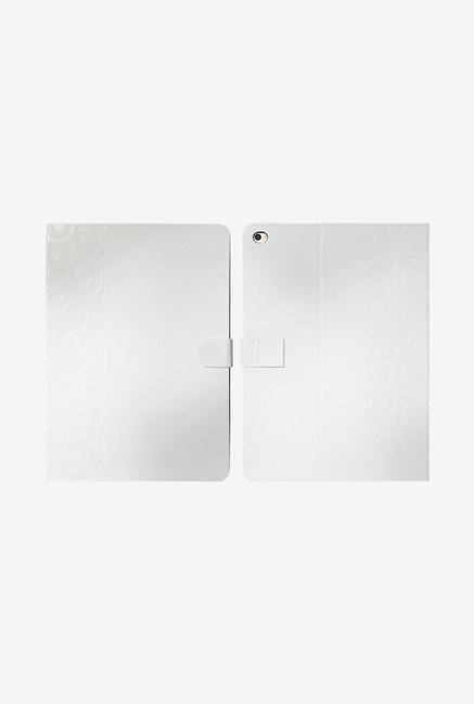 Ipearl iPad Air2 IP14-MAN08502A Embroidery Cover Pearl White