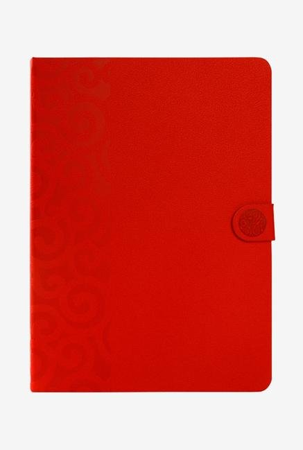 Ipearl iPad Air2 IP14-MAN-08502D Embroidery Cover Pure Red
