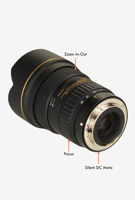 Tokina AT-X 16 - 28 mm F2.8 PRO FX Lens for Canon Digital SLR