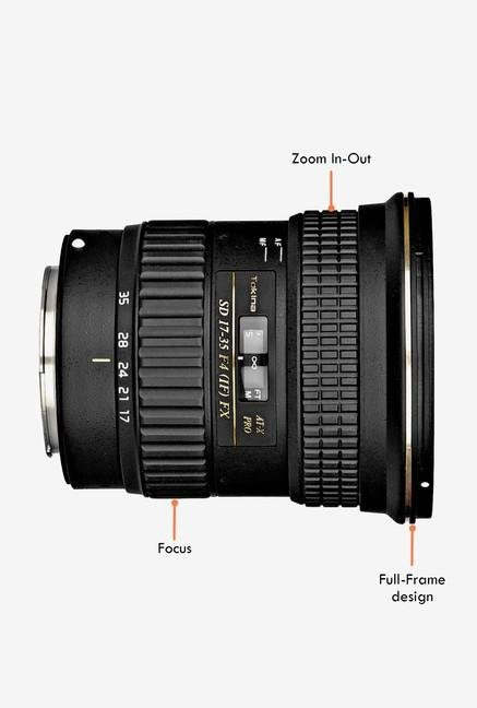 Tokina AF 17 - 35 mm F/4 PRO FX Lens for Canon Digital SLR
