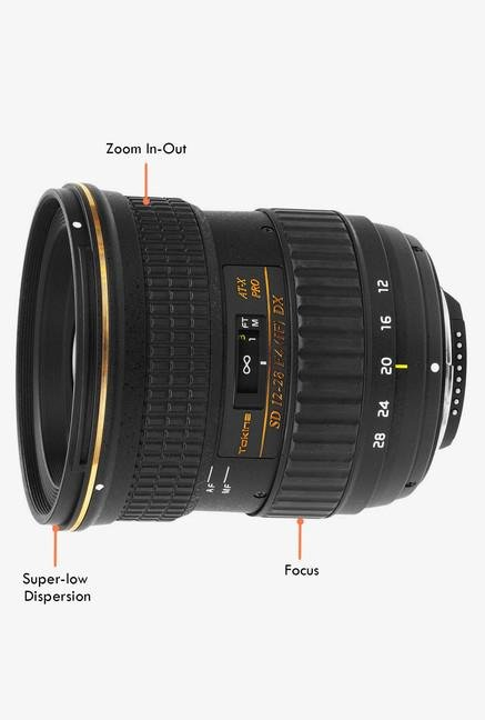 Tokina AT-X 12-28mm F4 Pro DX Lens for Nikon digital SLR
