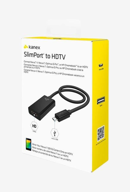Kanex Slim port SLIMPORT-ADP HDMI Adaptor Black