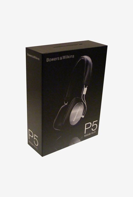 Bowers & Wilkins P5 On The Ear Headphone Black