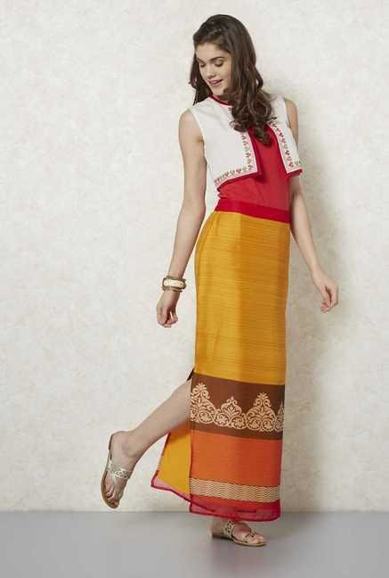 Fusion Beats Yellow Mehr Skirt