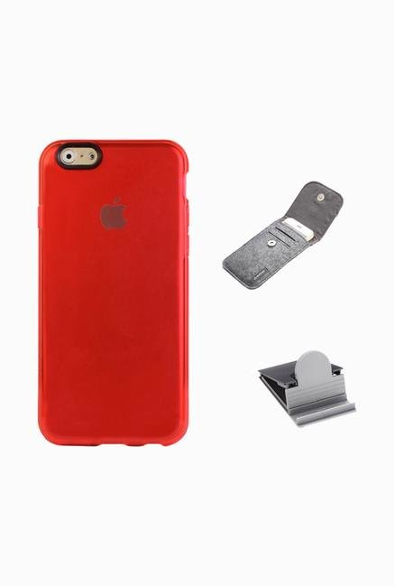 Stuffcool ACIP647 Back Case for Apple iPhone 6 Red