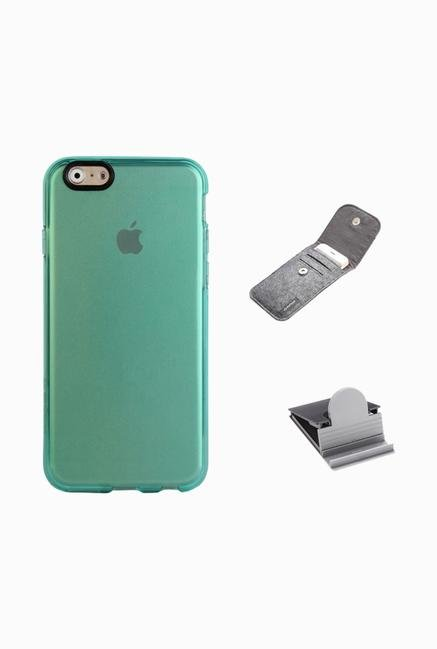Stuffcool ACIP647 Back Case for Apple iPhone 6 Blue