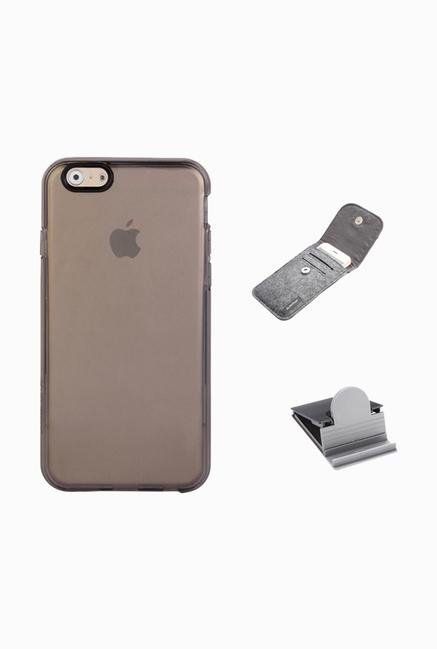 Stuffcool ACIP647 Back Case for Apple iPhone 6 Black