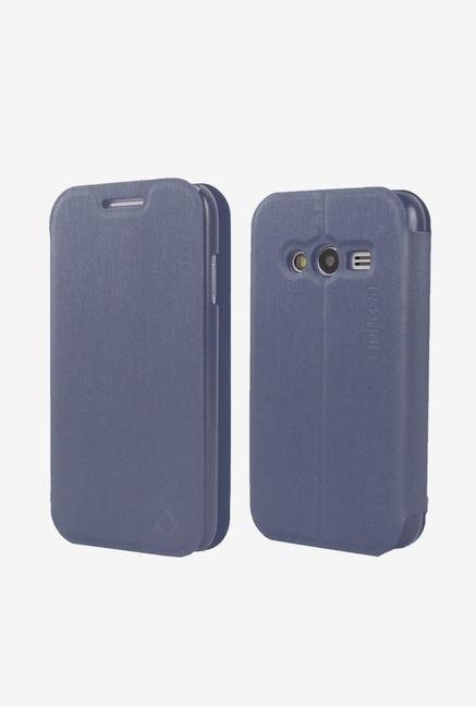 Stuffcool LCFSG3313 Flip Cover for Samsung GalaxyS Duos Blue