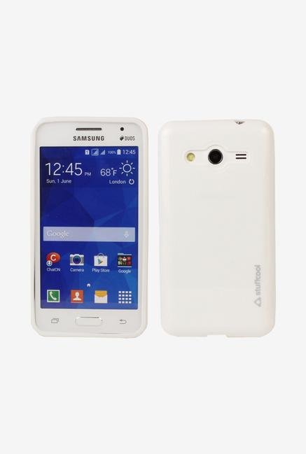 Stuffcool DXSG355 Back Case for Samsung Galaxy Core 2 White