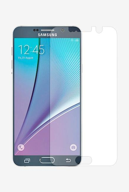 Stuffcool Supertuff Clear Screen Protector for Galaxy Note 5