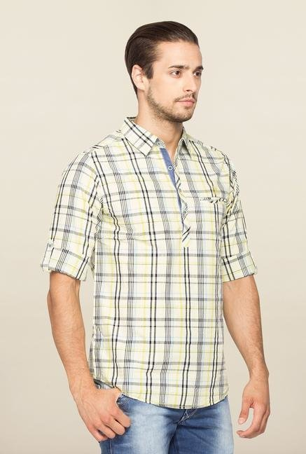 Spykar Multicolor Ranger Checks Slim Fit Shirt