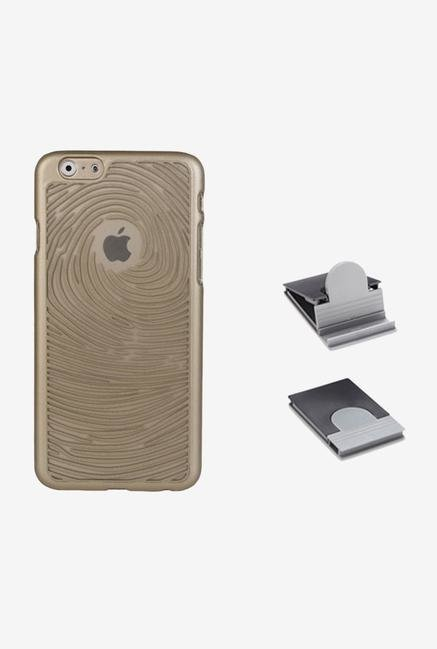 Stuffcool ETSWIP655 Back Case for Apple iPhone 6+ Gold