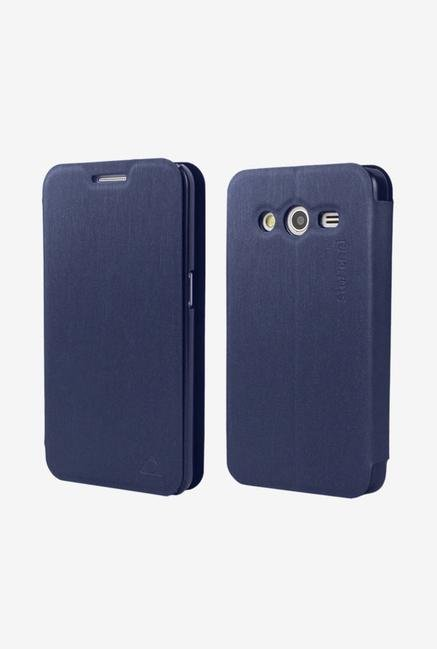 Stuffcool LCFSG355 Flip Cover for Samsung Galaxy Core 2 Blue