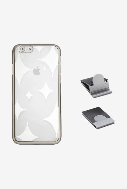 Stuffcool AUSTIP647 Back Case for Apple iPhone 6 Silver
