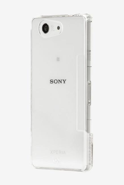 Case-Mate CM031352 Back Case for Sony XperiaZ3 Compact Clear