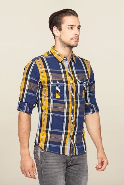 Spykar Multicolor Ranger Checks Casual Shirt