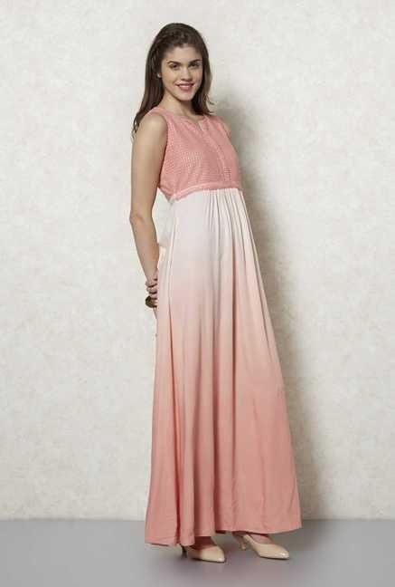 Fusion Beats Blush Kora Maxi Dress