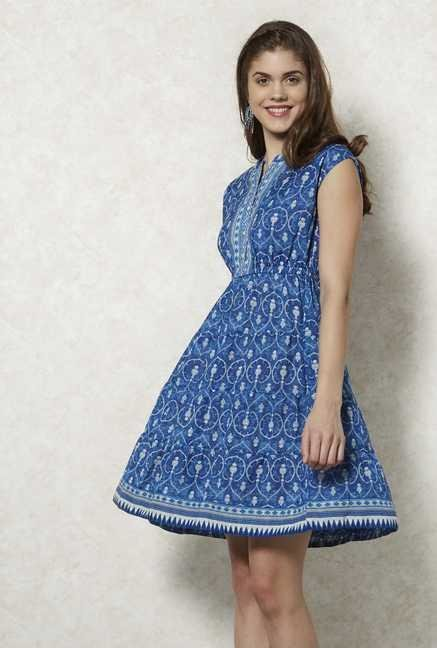 Fusion Beats Indigo Sara Dress