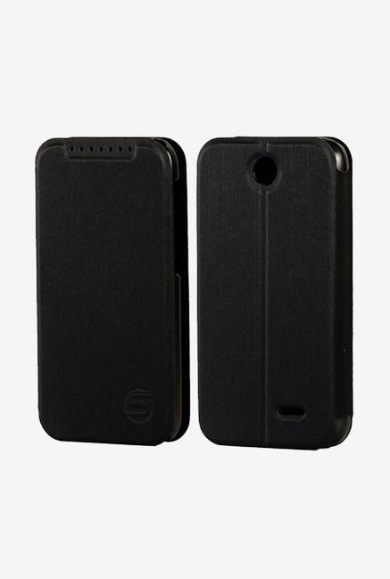 Stuffcool LCF1HC310 Flip Cover for HTC Desire 310 Black