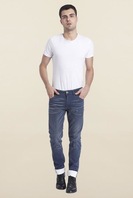 Jack & Jones Dark Blue Glenn Raw Denim Jeans