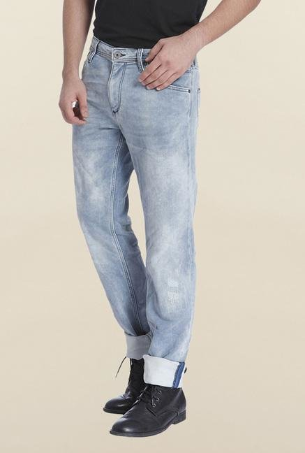 Jack & Jones Light Blue Tim Jeans