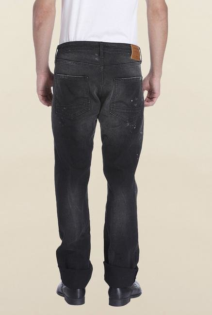 Jack & Jones Dark Grey Clark Jeans