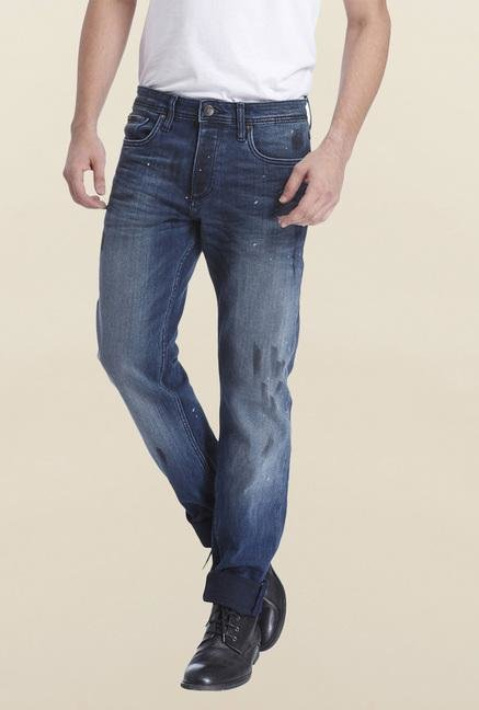Jack & Jones Blue Raw Denim Jeans