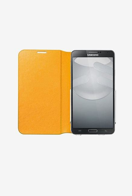 Switcheasy SWFLIPNT3Y Note 3 Flip Cover Tanned Yellow