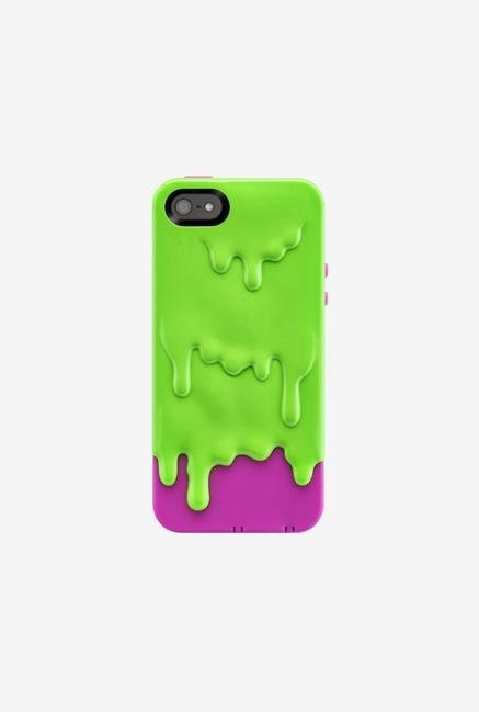 Switcheasy SWMELI5L iPhone 5 Back Case Green Pink