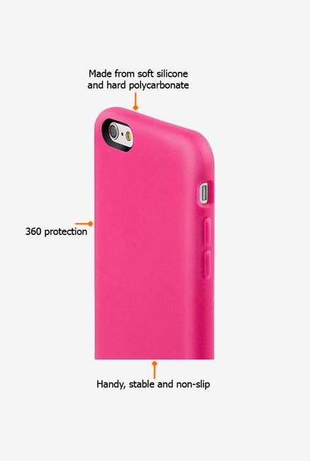 Switcheasy Numbers AP1111218 iPhone 6 Back Case Pink