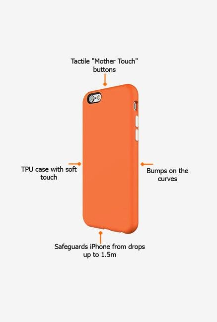 Switcheasy Numbers AP2111216 iPhone 6s Back Case Tangerine