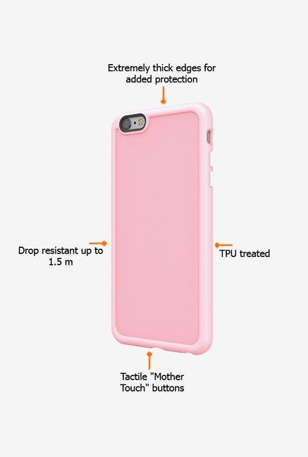 Switcheasy Aero AP2214341 iPhone 6s Back Case Baby Pink