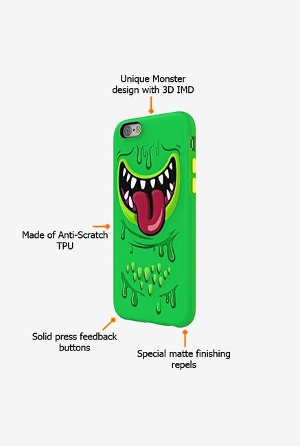 Switcheasy Monsters AP2115114 iPhone 6s Back Case Green