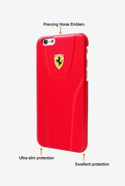 Ferrari FE3DHCP6RE iPhone 6 Case Red