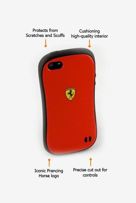Ferrari FESCBUP5RE iPhone 5 Case Red
