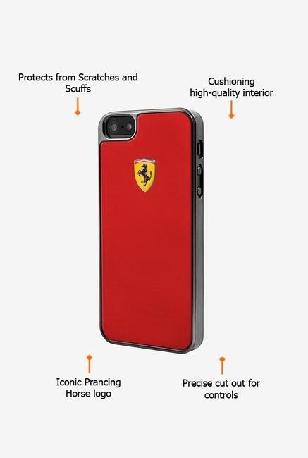 Ferrari FEMEHCP5RE iPhone 5 Case Red