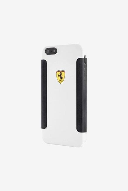 Ferrari FESHOHCP5WH iPhone 5 Case White