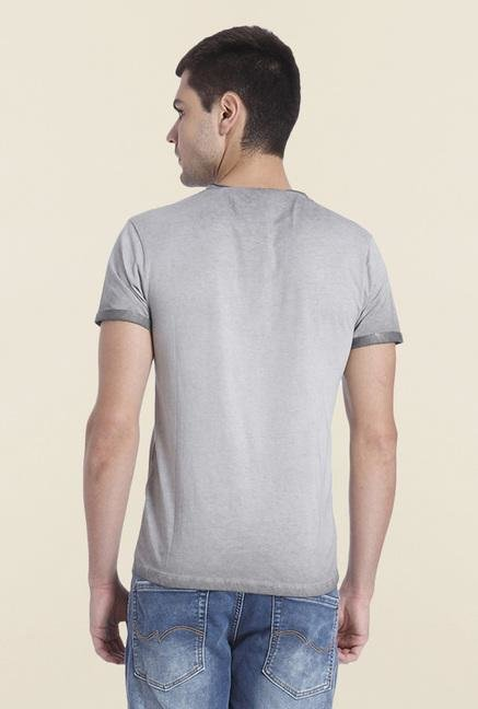 Jack & Jones Wild Dove Patchwork T Shirt