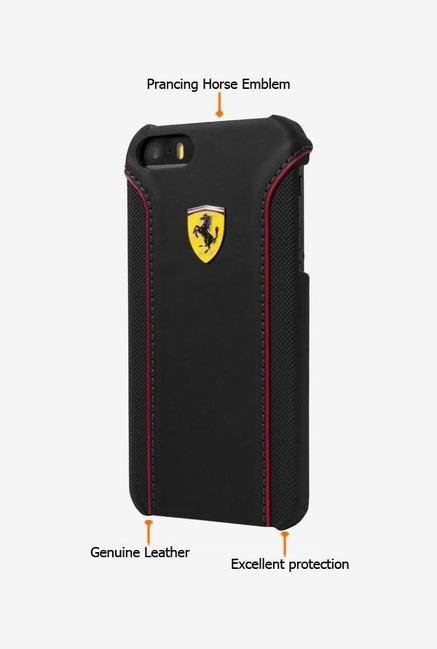 Ferrari FEDA2IHCP6BL iPhone 6 Case Black