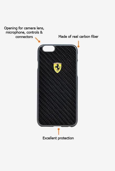 Ferrari FESCCBHCP6LBL iPhone 6 Plus Case Black