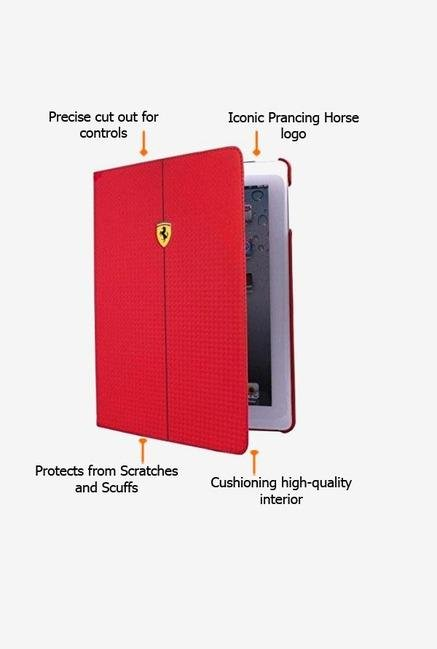 Ferrari FEFOCFCD5RE iPad Air Case Red