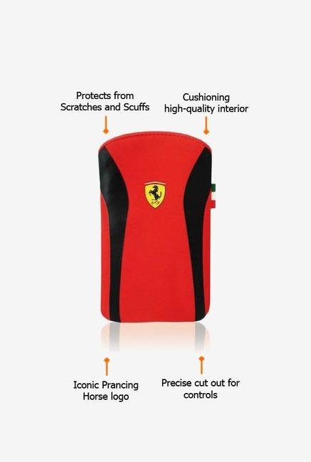 Ferrari FENUV2BL iPhone 4 Sleeve Red