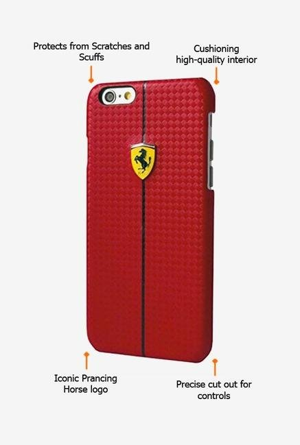 Ferrari FEFOCHCP6RE iPhone 6 Case Red