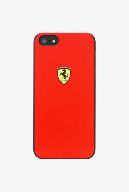 Ferrari FESCHCP5RE iPhone 5 Case Red