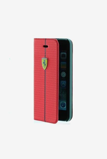 Ferrari FEFOCFLBK5RE iPhone 5 Case Red