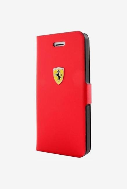 Ferrari FESCRUFLHP5RE iPhone 5 Case Red