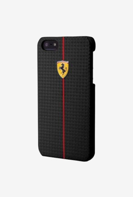 Ferrari FEFOCHCP5BL iPhone 5 Case Black