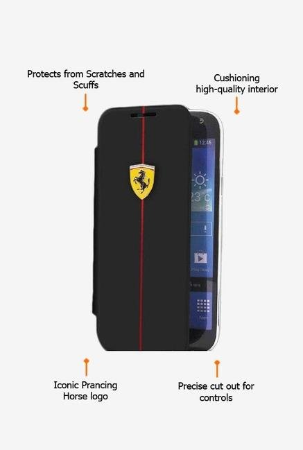 Ferrari FEFORBBGN3BL Note 3 Case Black