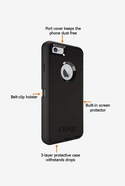 Otterbox Defender 52133 iPhone 6s Back Case Black